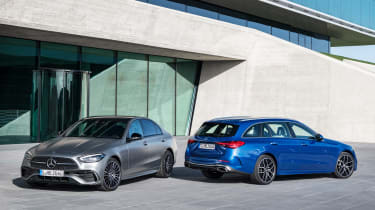 Mercedes C-Class Saloon and Estate