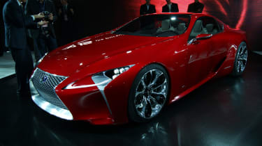 Lexus LF-LC front three-quarters