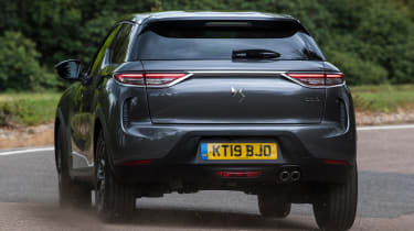 DS 3 Crossback - rear cornering