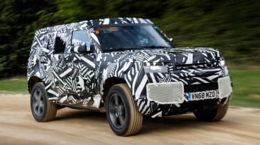 Land Rover Defender - front