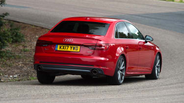 XE vs Gulia vs A4 - A4 - rear corner