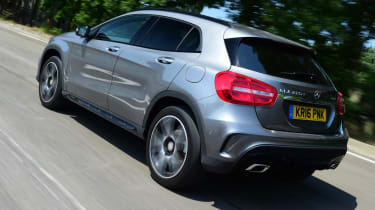 Mercedes GLA - rear action