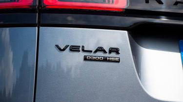 Range Rover Velar - rear badge