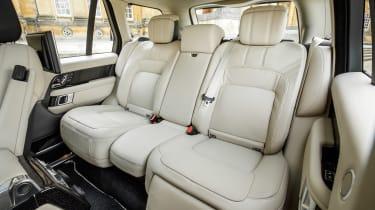 Range Rover PHEV - back seats