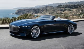 Vision Mercedes-Maybach 6 Cabriolet - front