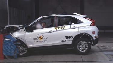 Mitsubishi Eclipse Cross - Frontal Offset Impact test