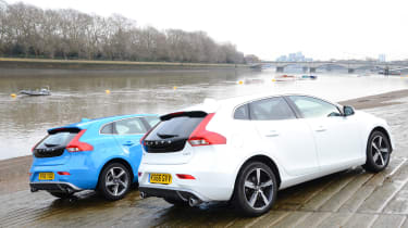 Volvo V40 long-term - first report rear comparison