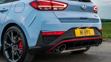 Hyundai i30 N Performance DCT - rear
