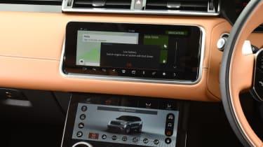 Range Rover Velar - diesel infotainment screen