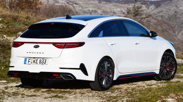 kia proceed gt prototype static rear