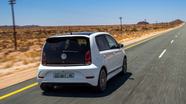 Volkswagen up! GTI prototype - rear tracking