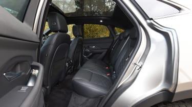 Jaguar E-Pace review - back seats