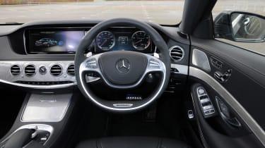 Mercedes S63 AMG 2014 interior