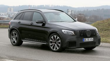 Mercedes-AMG GLC 63 side front