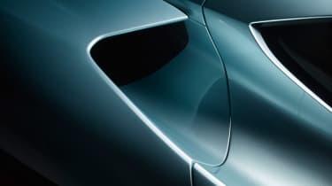NextEV NIO EP9 electric hypercar - intakes