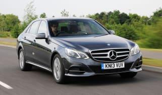 Mercedes E250 CDi front action