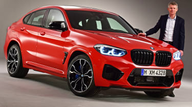 BMW X4M - interview