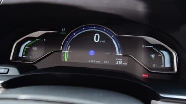 Honda Clarity - dials