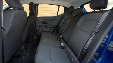 Dacia Sandero 2021 - rear seats