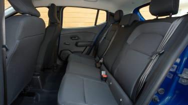 Dacia Sandero 2021 - rear seats