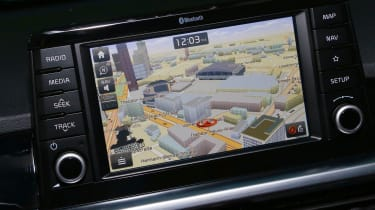 Kia Picanto GT Line 2017 - grey infotainment