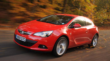 Vauxhall Astra GTC front tracking