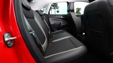 Vauxhall Crossland X - rear seats