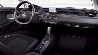 VW XL1 interior