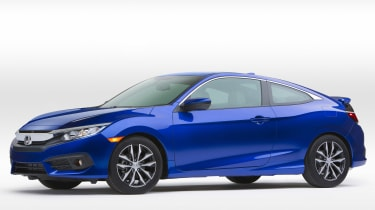 Honda Civic Coupe revealed - front