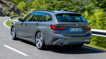 BMW 3 Series Touring - rear action