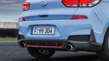 Hyundai i30 N tail lights