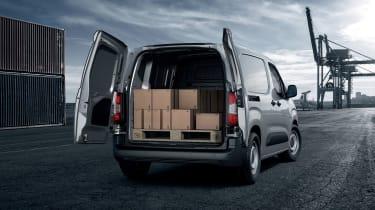Peugeot Partner - rear loading