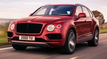 Bentley Bentayga V8 petrol announced - front