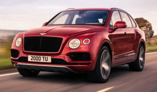 Bentley Bentayga V8 petrol announced - front
