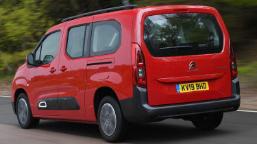 Citroen Berlingo XL Flair long termer - rear