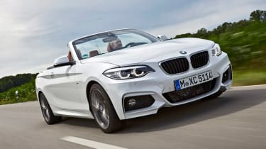 BMW 220d Convertible - front action
