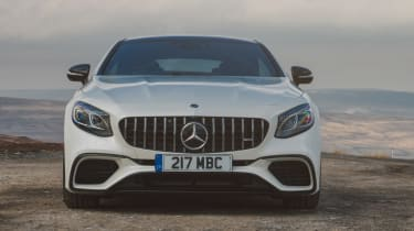 Mercedes-AMG S 63 Coupe - full front static