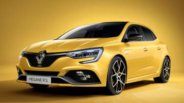 Renault Megane RS - front studio