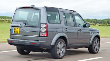 Land Rover Discovery - rear tracking