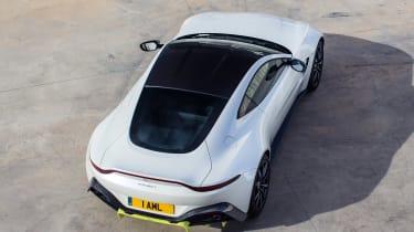 Aston Martin Vantage - above rear