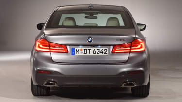 BMW 5 Series - studio full rear