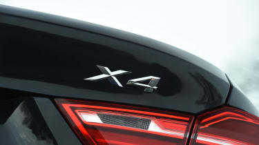 BMW X4 - rear badge
