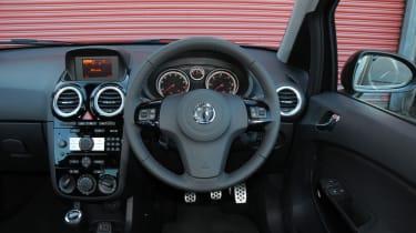 Vauxhall Corsa Black Edition interior
