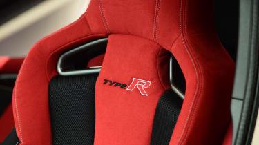 Honda Civic Type R 2017 - studio seat