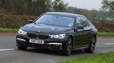 BMW 7 Series - front action