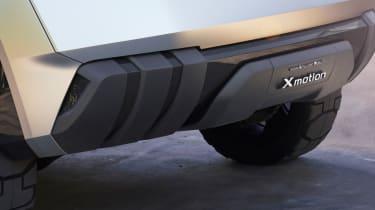 Nissan Xmotion Concept - bumper trim
