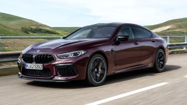 BMW M8 Gran Coupe - front