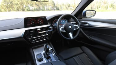 BMW 5 Series - cabin