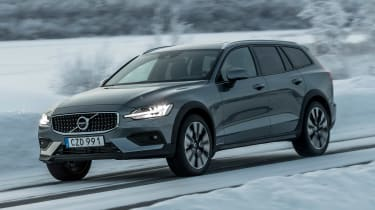 Volvo V60 Cross Country - front action