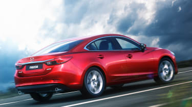 Mazda 6 rear tracking